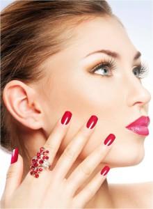face nails